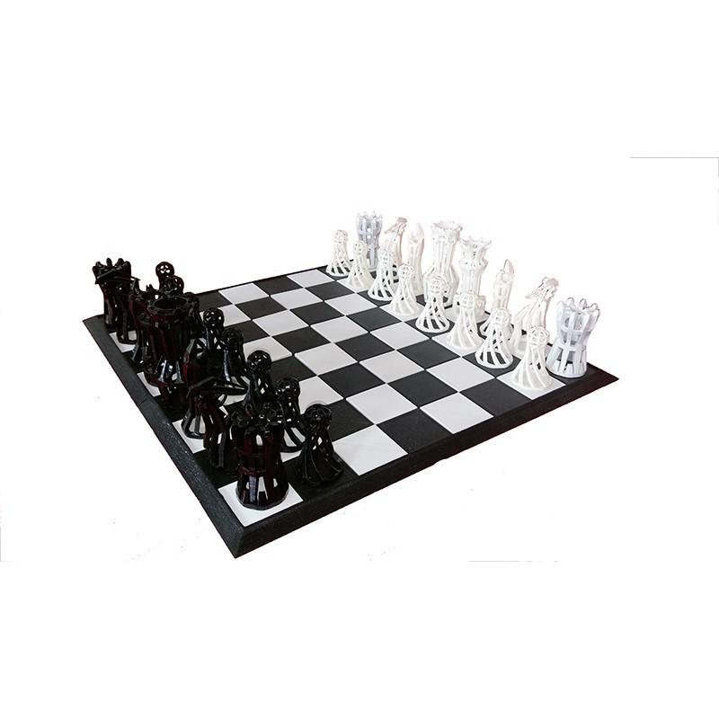 Jeux d'échec original imprimé en 3D