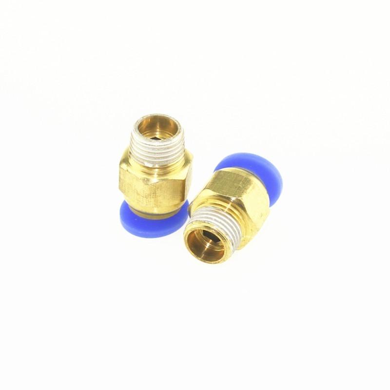 Raccord pneumatique 6-M8 pour filament 3mm