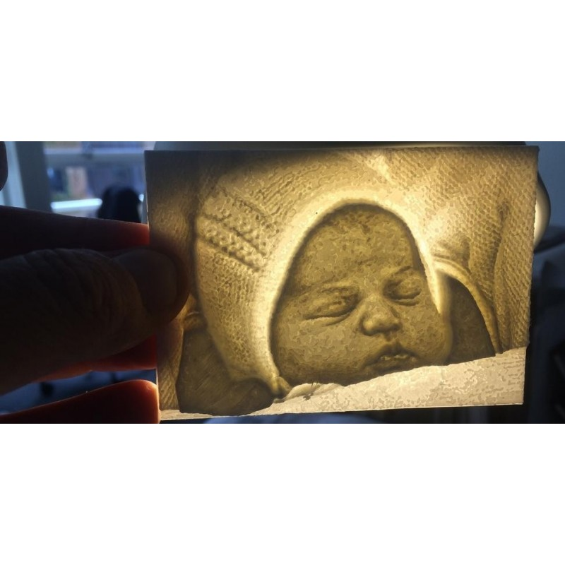 Photo 3D taille