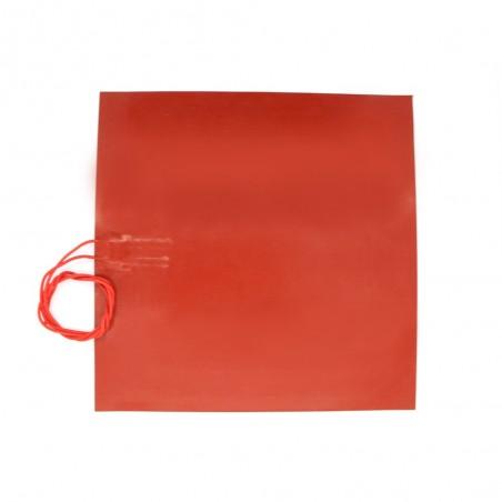 Plateau chauffant 300*300mm silicone