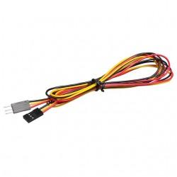 Câble 3 pins male femelle 70cm connecteur Dupont