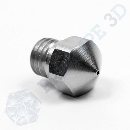 Buse d'extrusion en acier 0.6mm MK10