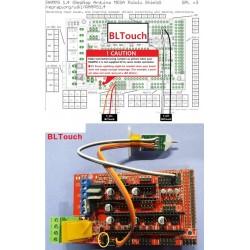 BL touch pour auto-levening RAMPS 1.4