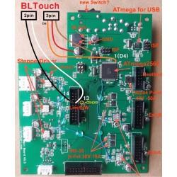 BL touch pour auto-levening RIGIDBOT