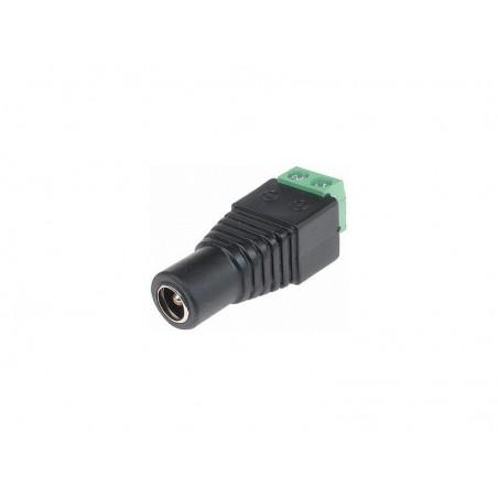 Connecteur d'alimentation DC Femelle 2.1/5.5 à visser
