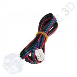 Câble 4 pins femelle femelle 100cm connecteur  JST XH 2.54 / JST XH 2.0