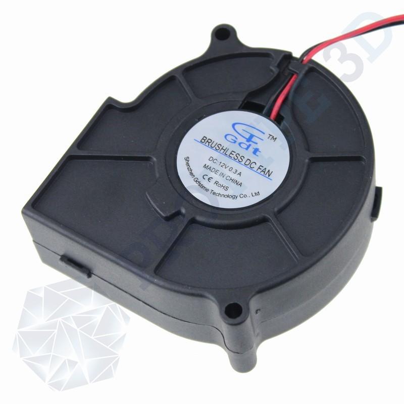 Ventilateur 50*50*15 12V turbine radial