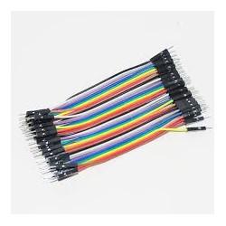 Câble 1 pin male male 30cm connecteur Dupont