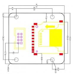 schéma adaptateur carte sd externe pour imprimante 3D