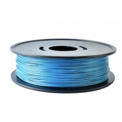 pla blue metallic 3d filament arianeplast 750g made in france