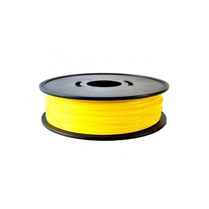 yellow pla 3d filament arianeplast 750g