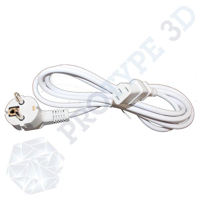 cable schuko blanc 2m