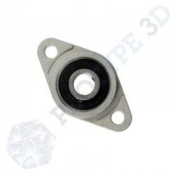 Palier applique pour tige diamètre 8 mm KFL8