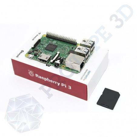 Raspberry PI 3 + micro SD 16G