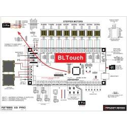 BL touch pour auto-levening AZTEEG X3 PRO