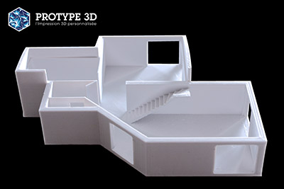 impression 3d architecte protype3d. Black Bedroom Furniture Sets. Home Design Ideas
